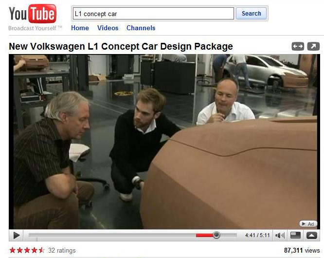 Imagenes que se colaron el año pasado de un Centro de Diseño VW, donde se ve en el fondo un modelo en arcilla del tamaño del Golf, será asi?