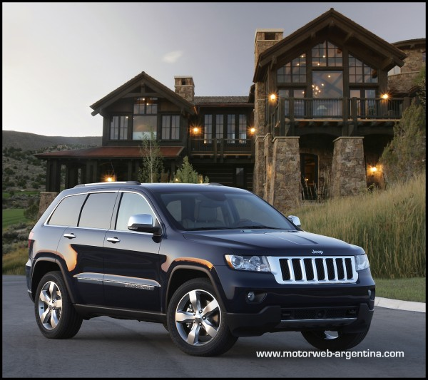 jeep lanza en argentina el grand cherokee overland. Black Bedroom Furniture Sets. Home Design Ideas